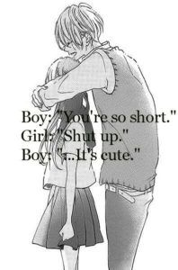 cute couple anime quotes