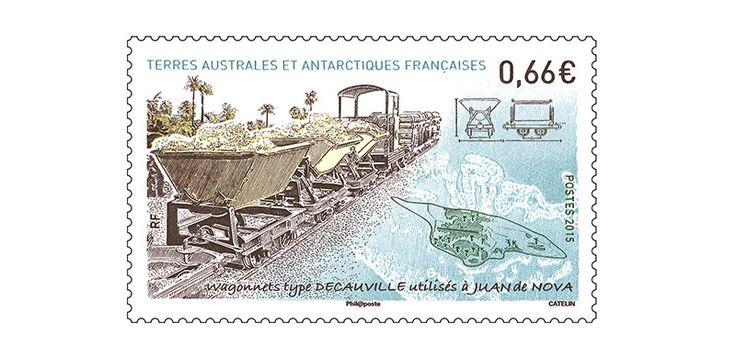 COLLECTORZPEDIA: TAAF Stamps Decauville cars