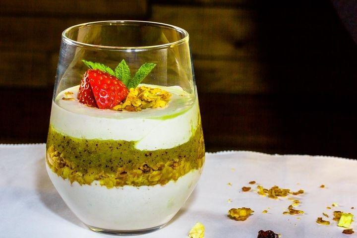 Творожный мусс с фруктовым смузи - рецепт - как приготовить - ингредиенты, состав, время приготовления - Леди Mail.Ru