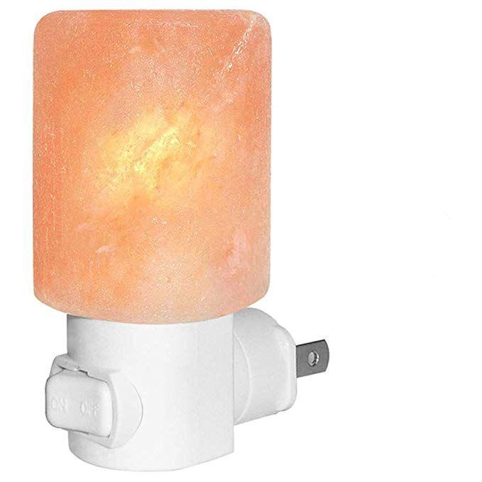 Venhoo Mini Hand Carved Himalayan Salt Lamp Natural Crystal Salt Rock Nursery Wall Night Light Plug In Nightlight With Incan Salt Lamp Himalayan Salt Lamp Lamp