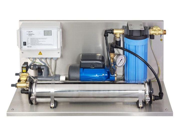 Impianto a osmosi inversa è un processo semplice per purificare l'acqua…