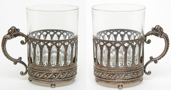 Although I prefer the Russian tea glass holders, these are stunning.