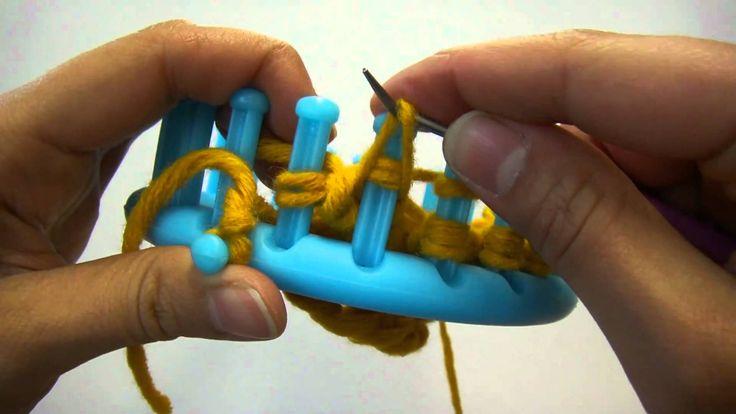 Knitting Loom (Strickring) -  Maschenvariante (auch für Serenity Loom)