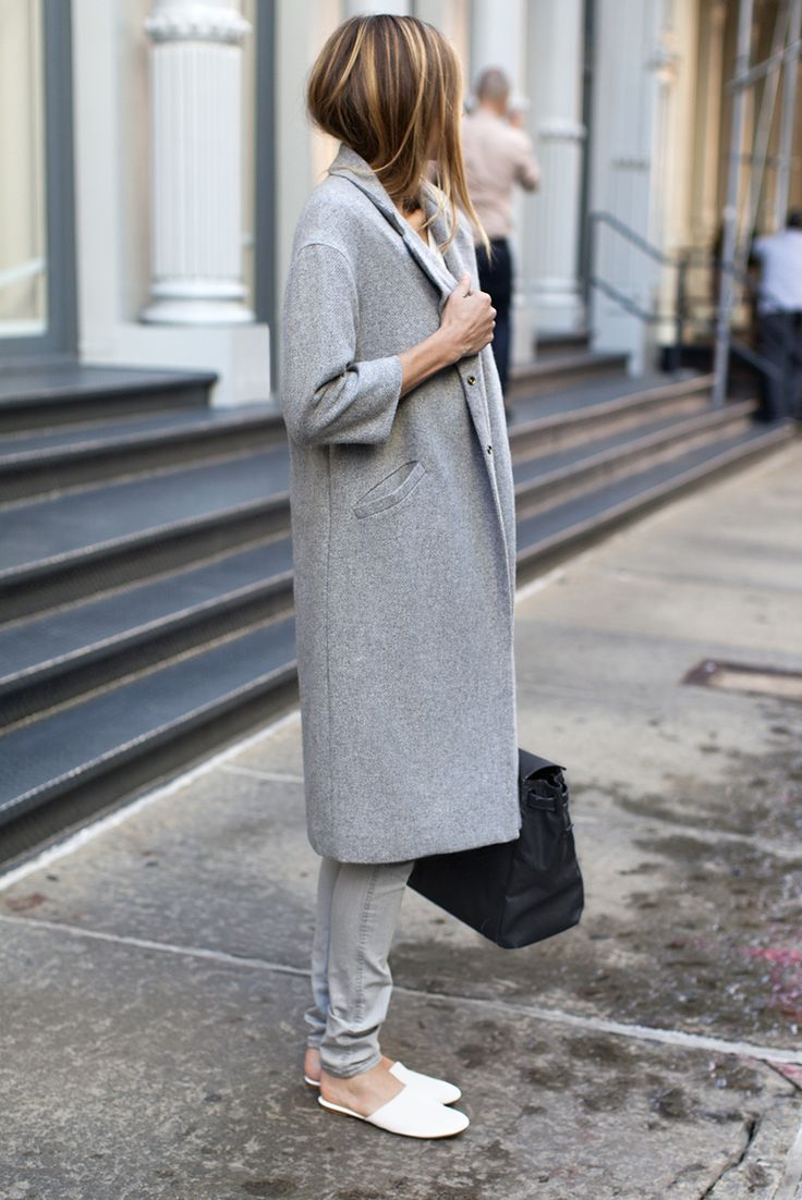 all grey outfit idea