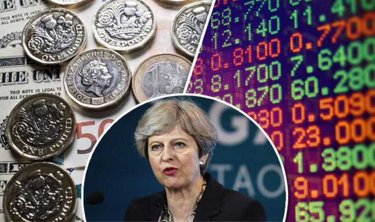 Pound to euro exchange rate: Sterling SOARS as Theresa May fights back in election polls