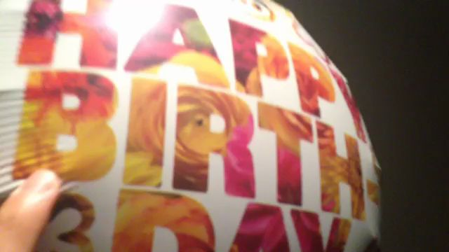 Happy balloon video