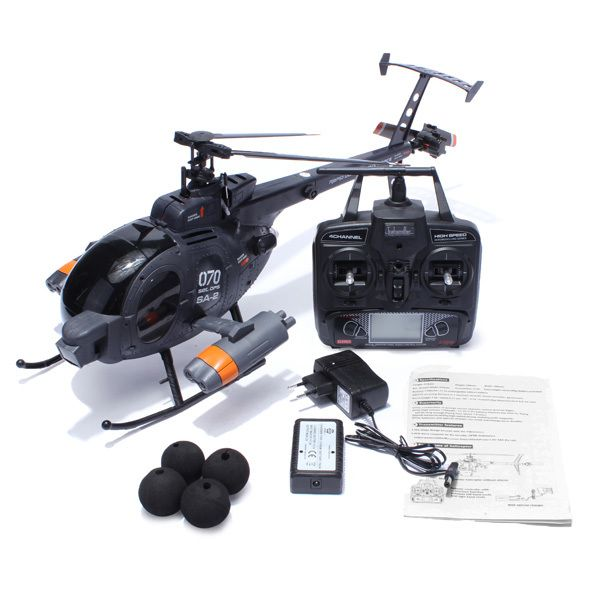Hobby Drones Air Wolf Helicopter For Sale 2.4G 4CH 6-Axis Gyro RTF  Flying this Air Wolf Helicopter is a great fun. The Air Wolf Helicopter is easy to fly and perfect for beginers.  See how it works in this video == https://youtu.be/lseIm1mLKnM...