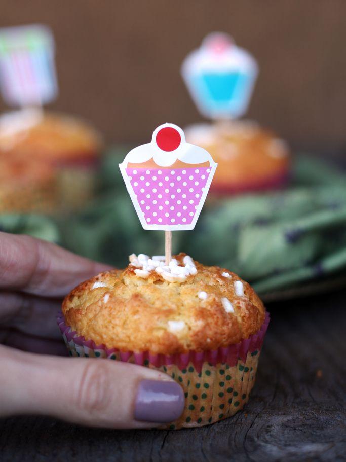 muffin alla panna (whipping cream batter muffins)