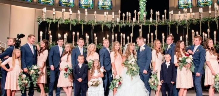"19 Kids and Counting Joy-Anna and Austin Forsyth 5-months pregnant at Joe Duggar wedding? Duggars ""Counting On"" unwed pregnancy or twin grandbabies?"