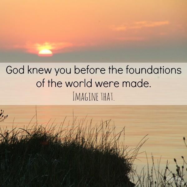 Ephesians 1:3-4 image