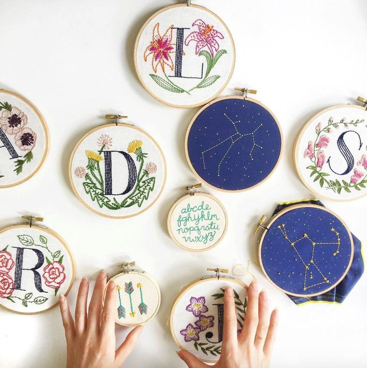 Jessica Marquez of Miniature Rhino  I've been a fan of Jessica Marquez's whimsical needlework ever since her book Stitched Gifts was released. And her Instagram account is just that—a lovely embroidered gift delivered daily to your phone.