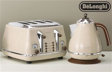 Buy Delonghi Vintage Cream Kettle from the Next UK online shop
