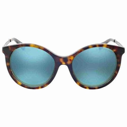 Michael Kors Island Tropics Teal Mirror Sunglasses