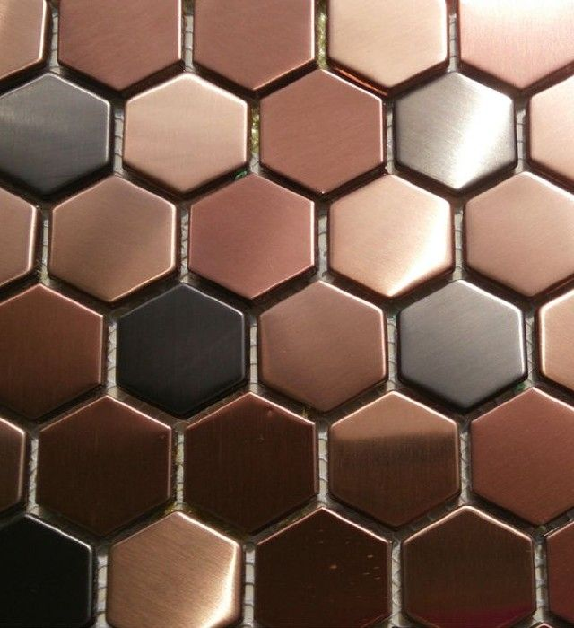 60 Lifestyle Home Design Ideas: Copper Madness Hexagon