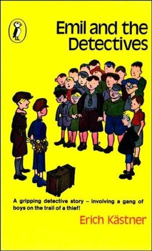 """Emil and the Detectives"", Erich Kästner - Deserves a much wider following than I imagine it has. Pretty sure my mum picked it up at a car-boot sale by happenstance - it quickly became a stalwart of my bookshelf."