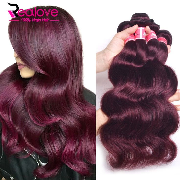 Cheap hair product salon, Buy Quality hair darkening products directly from China hair rmoval Suppliers: #99j Peruvian Virgin Hair Body Wave 3Pcs She Hair Peruvian Body Wave 100% Human Hair Extensions Burgundy Peruvian Hair Bundles