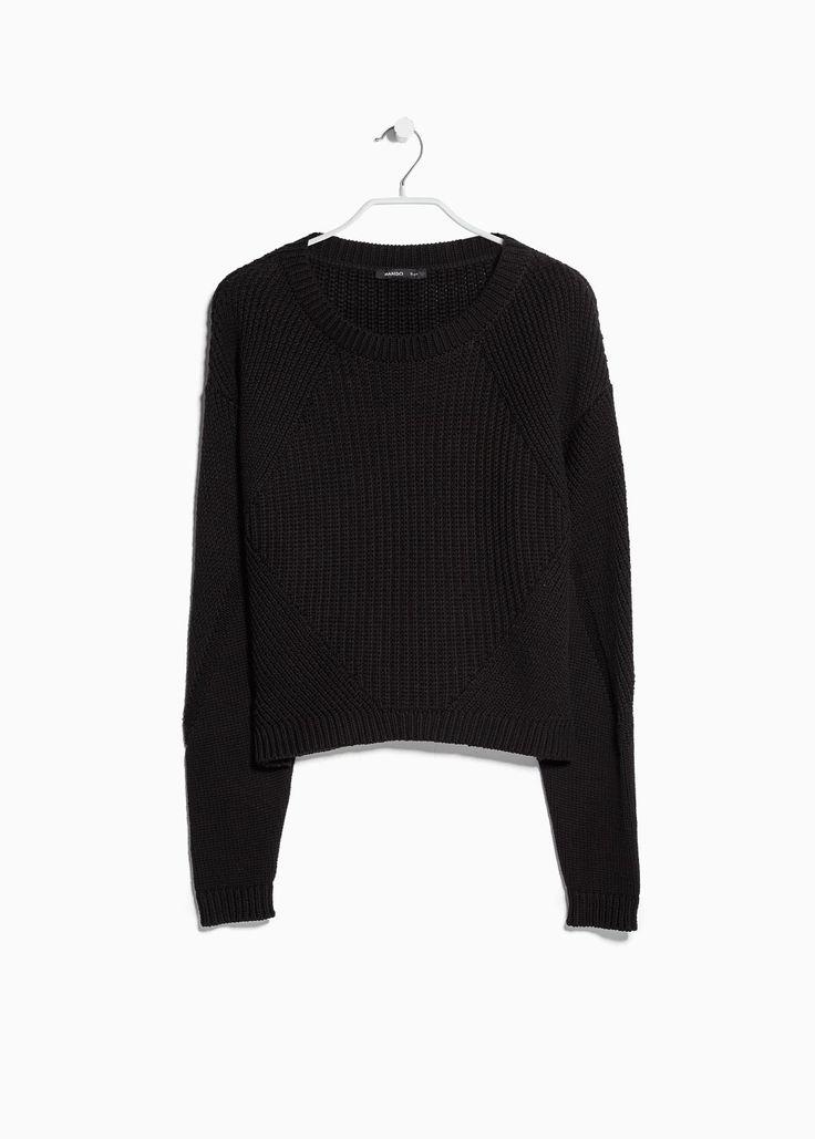 Pullover maglia spessa - Donna | MANGO