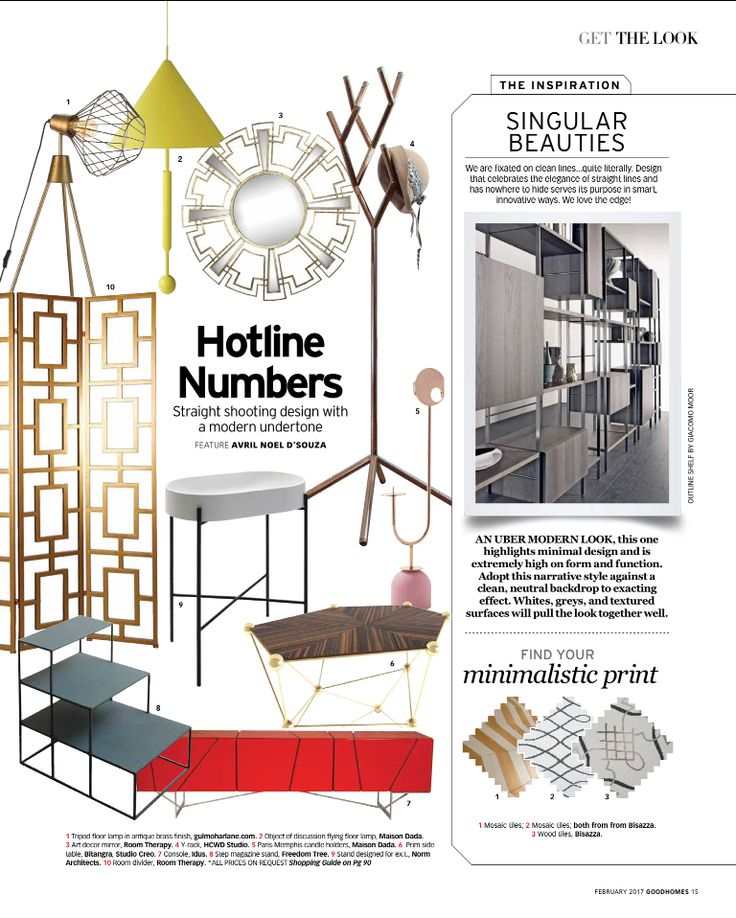 Straight shooting design with a modern undertone!  Product Link- http://www.gulmoharlane.com/products/mill-tripod-floor-lamp-in-antique-brass-finish  #floorlighting #tripodlamp #goodhomes #magazinefeature