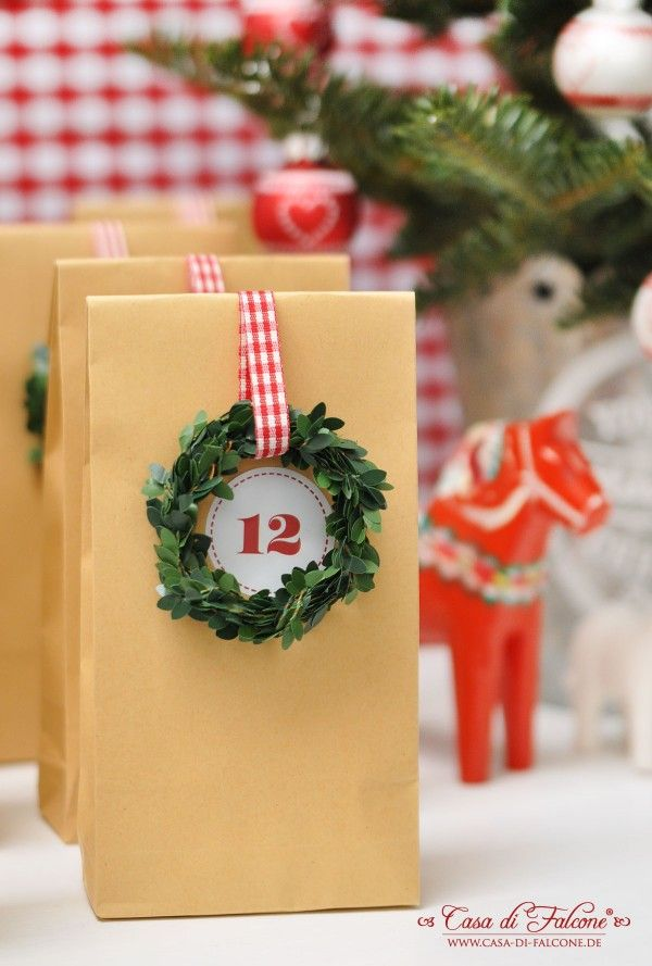 Adventskalender No. 11 I Adventcalender I schwedisch I skandinavian christmas I Dala horse I Casa di Falcone