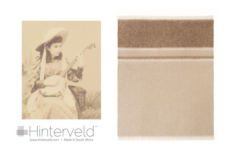 The image which inspired the Banjo design and colour, part of the Rhapsody range woven by Hinterveld