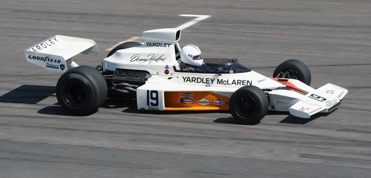 Denny Hulme McLaren M23 1973 (Anderstorp 2008) © Peter Linder