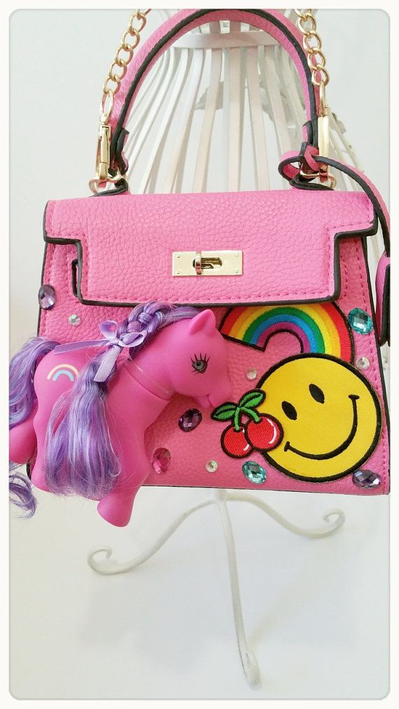 Pony BagMini bagSmall BagVintage Pony bagToto by emicocosweet