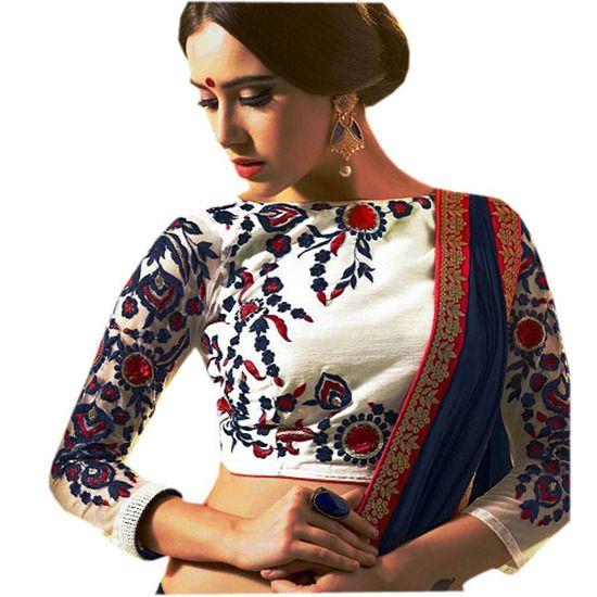 Designer Embroidered Blouses Online 105