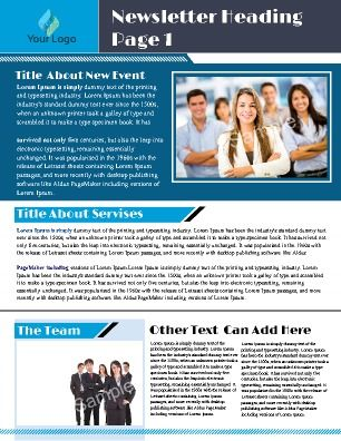 7 best School Newsletter Templates images on Pinterest School - business newsletter