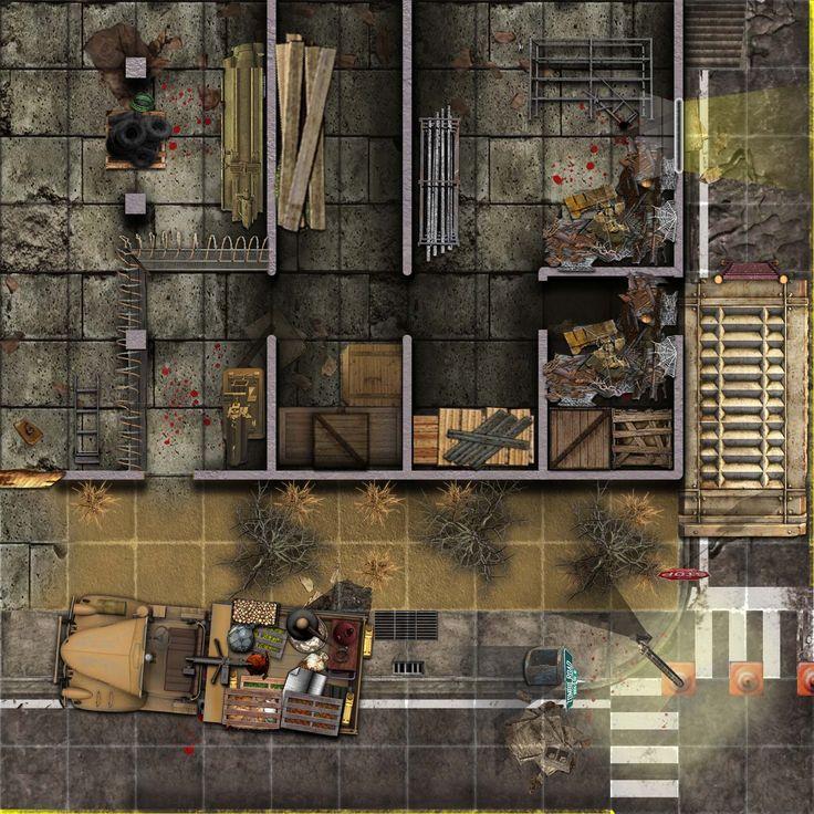 fallout rpg maps modern map wasteland tabletop battlemaps d20 fantasy maker apocalypse google floorplans apocalyptic cyberpunk gaming dungeon rp shadowrun