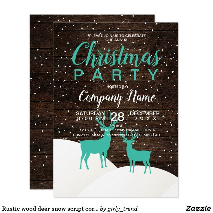 331 best Christmas New Year\'s Eve party holiday invitations images ...