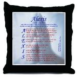 "Using the meaning of the name Alexis (""Defender of Mankind""), this acrostic poem features an encouragment or blessing Scripture verse that starts with each letter in the name. ""Alexis"" acrostic name blessing poem includes verses from Jeremiah, Matthew, Proverbs, the Psalms, Philippians, and Revelation."