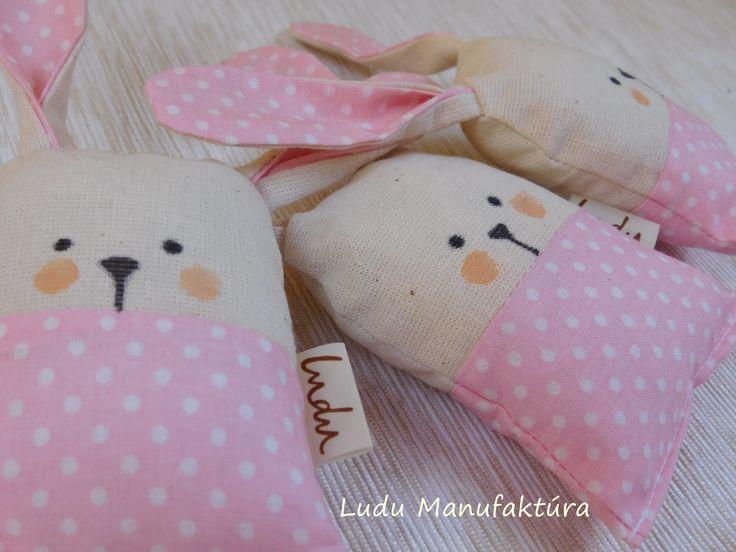 Fabric rabbit