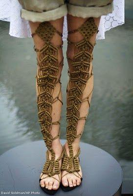 Pernas trançadas