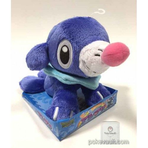 Pokemon 2016 Popplio Takara Tomy Medium Size Plush Toy