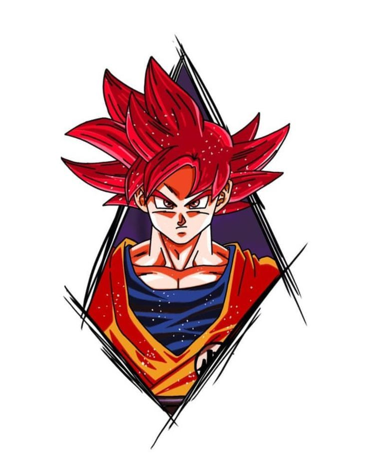 Goku Super Saiyan God Dragon Ball Super Ball Dragon