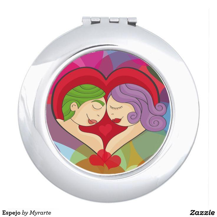 Espejo Vanity Mirror. Producto disponible en tienda Zazzle. Product available in Zazzle store. Regalos, Gifts. Link to product: http://www.zazzle.com/espejo_vanity_mirror-256292851004216755?CMPN=shareicon&lang=en&social=true&rf=238167879144476949 Día de los enamorados, amor. Valentine's Day, love. #ValentinesDay #SanValentin #love #espejo #mirror