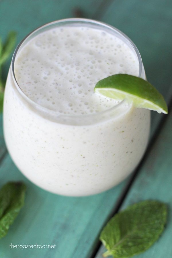 Mojito Smoothie - a healthy and delicious treat for breakfast!