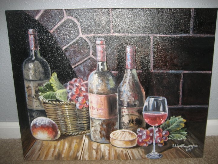 Paintings By Elise: I Painted This For My Momu0027s Italian Themed Kitchen