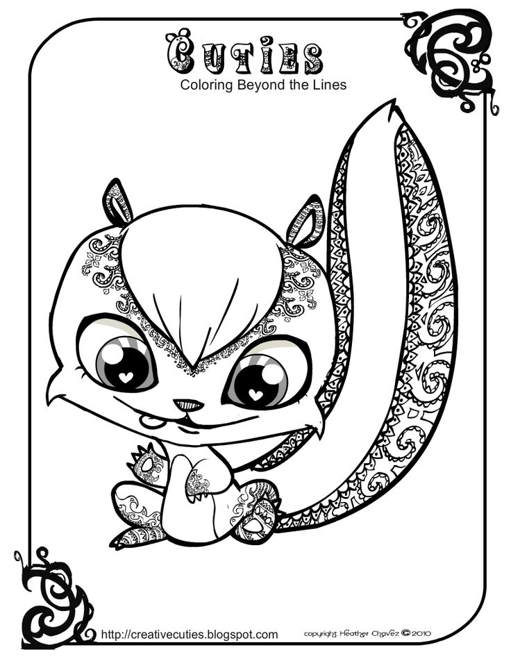creative cuties these are the cutest coloring pages ever description from pinterestcom
