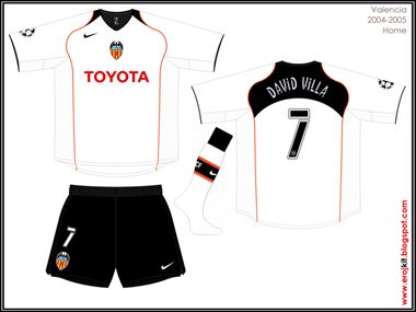 Valencia | home jersey | 2004-05