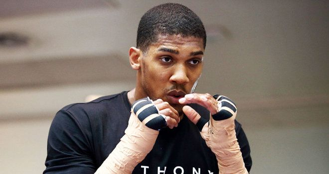 Boxing: Anthony Joshua ready for Konstantin Airich after sparring with Wladimir Klitschko