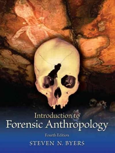 Comprehensive and engaging, Byerss Introduction to Forensic Anthropology , 4e uses thoughtful pedagogy to lead students step-by-step through the most current and detailed forensic anthropology materia