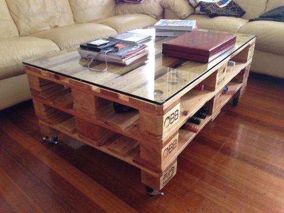Fabriquer des meubles originaux avec des palettes - Iscomity