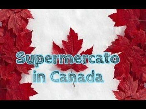 Nord America - Fare la spesa al supermercato in Canada. Shopping at No f...