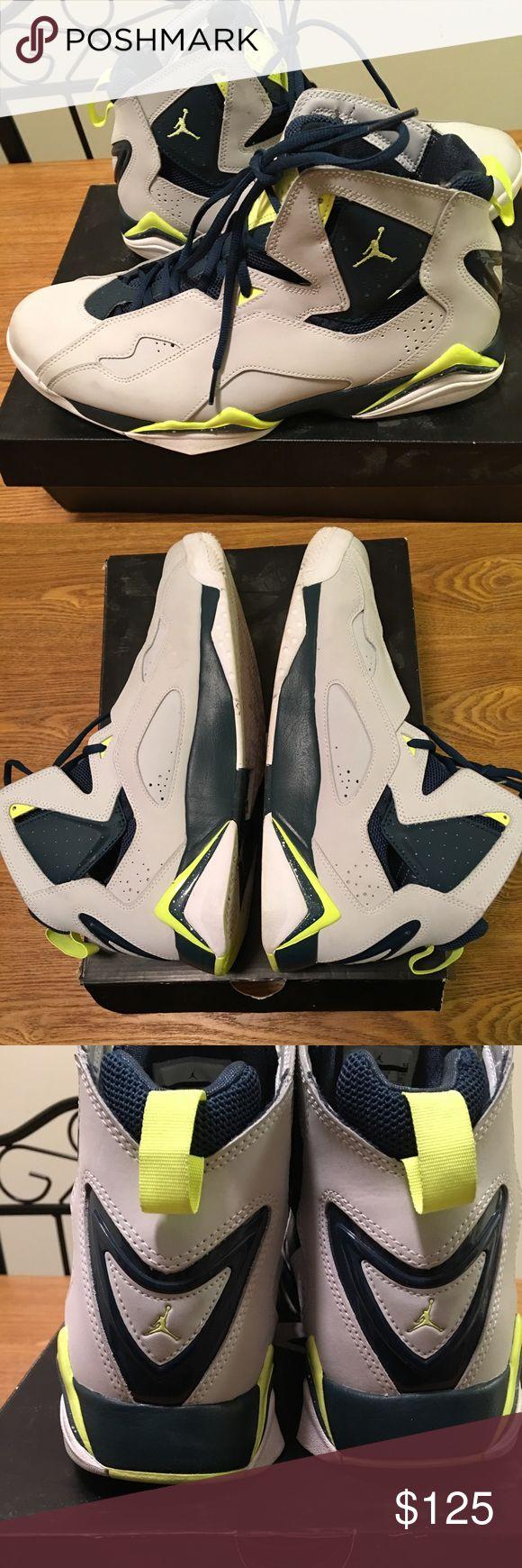 Jordan true flight Comes with original box. Shoes are still in excellent condition. Jordan Shoes Athletic Shoes