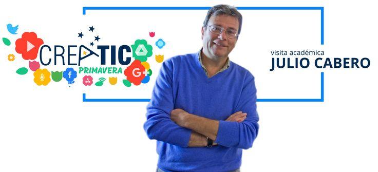 Gráfica de la visita de Julio Cabero Almería a la Universidad de Valparaíso, e iniciar un trabajo colaborativo en torno a la investigación en tecnología educativa