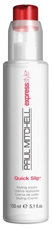 Quick Slip, crema styling effetto liscio per capelli sottili e medi. Tenuta leggera.