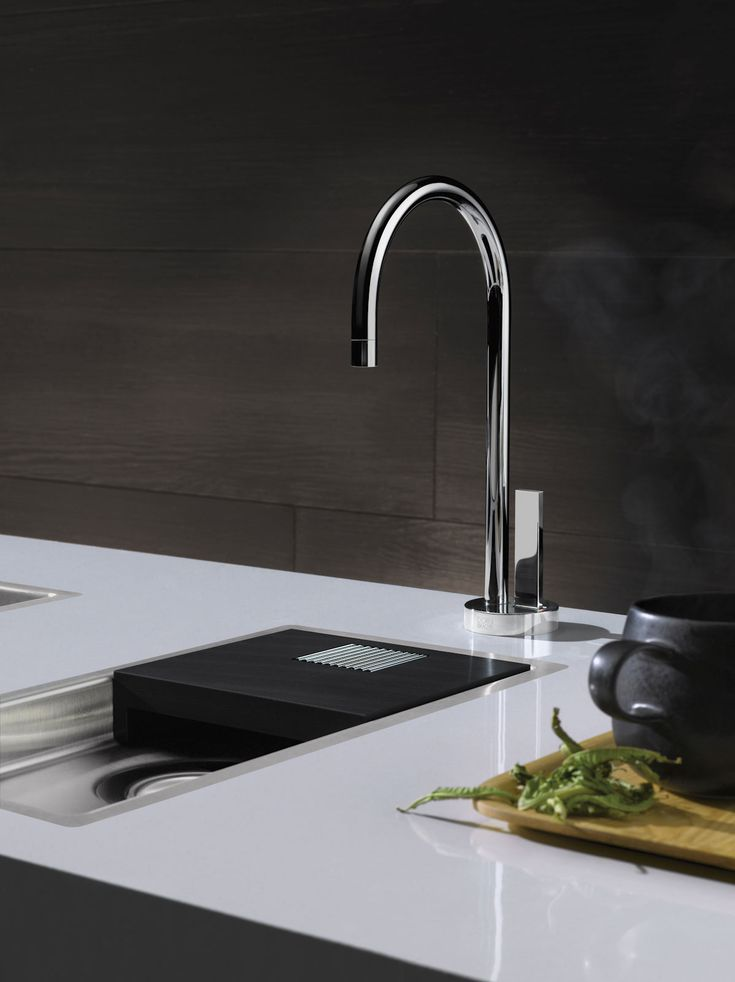 Simple water dispenser by Dornbracht / TARA ULTRA Collection