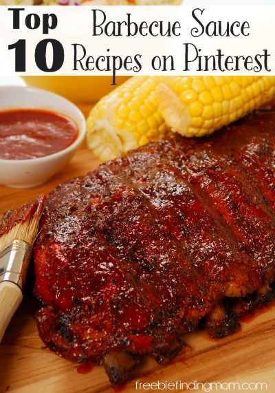 Top 10 Barbecue Sauce Recipes on Pinterest - Make the best barbecue ever! Discover 10 of the most popular barbecue sauce recipes on Pinterest. Whether you like sweet, spicy or a combination, you are sure to find your new favorite.