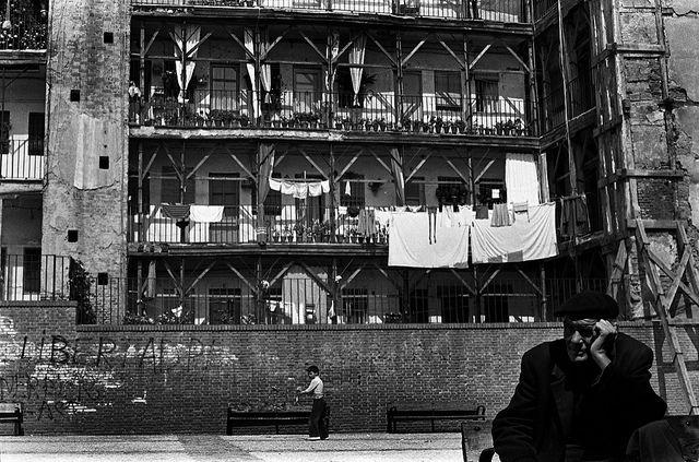 Corrala de Lavapiés Madrid 1973 via Flickr